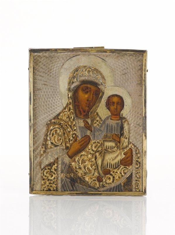 448: 19th Century Russian Travel Icon