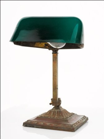 8: Emeralite Desk Lamp