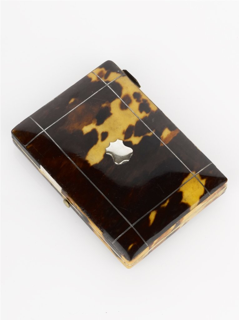 9: Tortoise Shell and Ivory Card Case