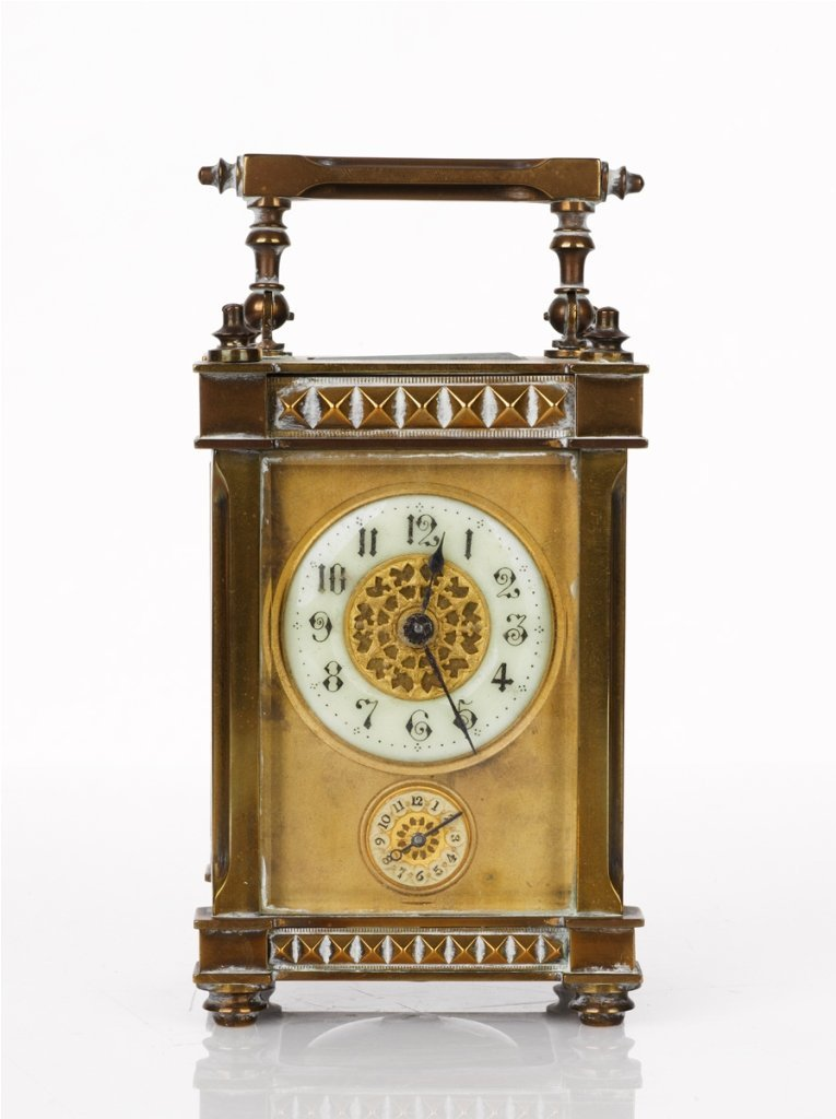 16: Travel Carriage Clock