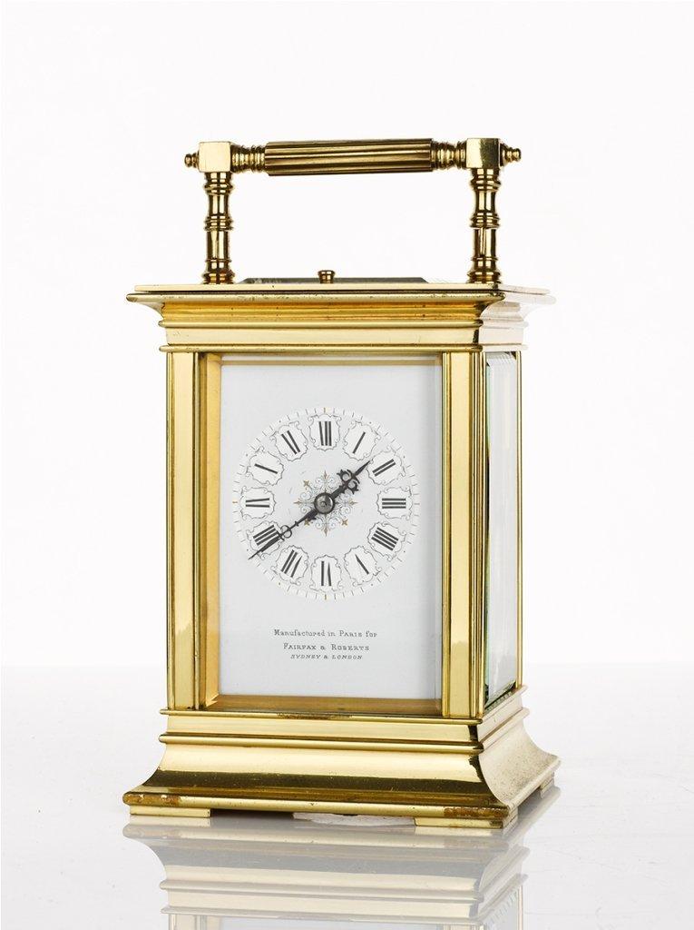 17: Fairfax and Roberts, Carriage Clock