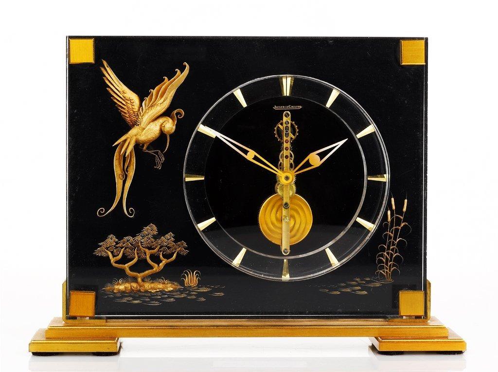 19: Jaeger-LeCoultre, 'Marin Bird of Paradise' Clock