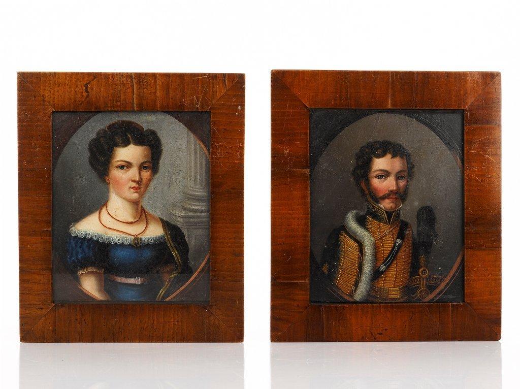 23: Pair of Miniatures