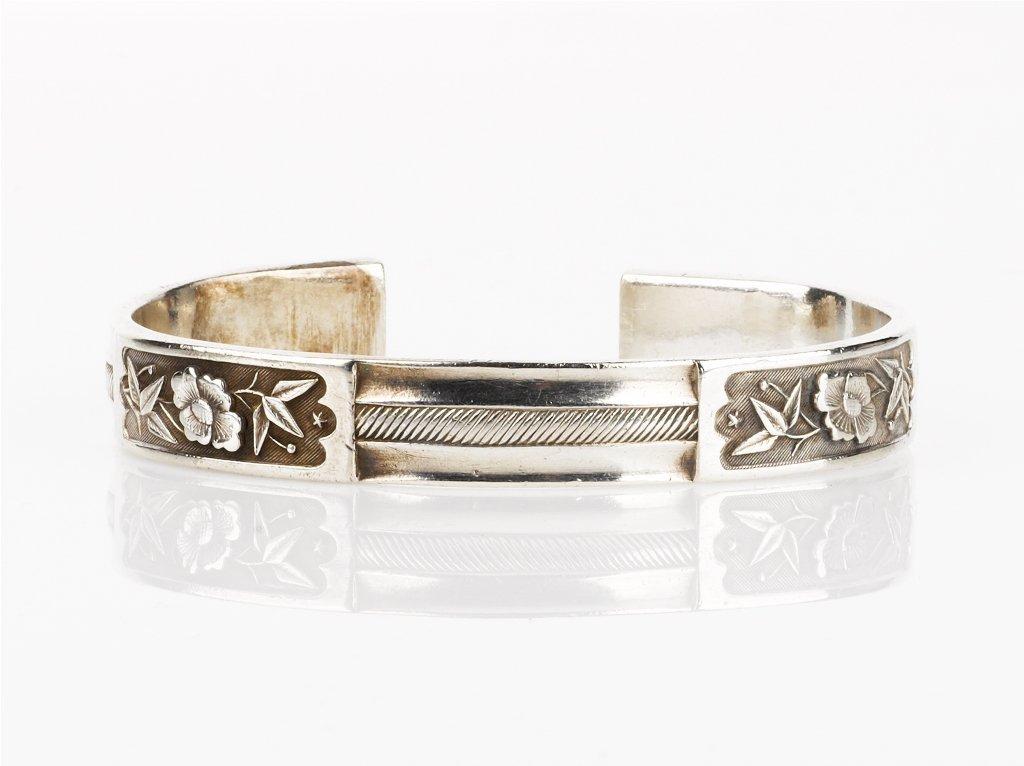 247: Chinese Silver Bangle