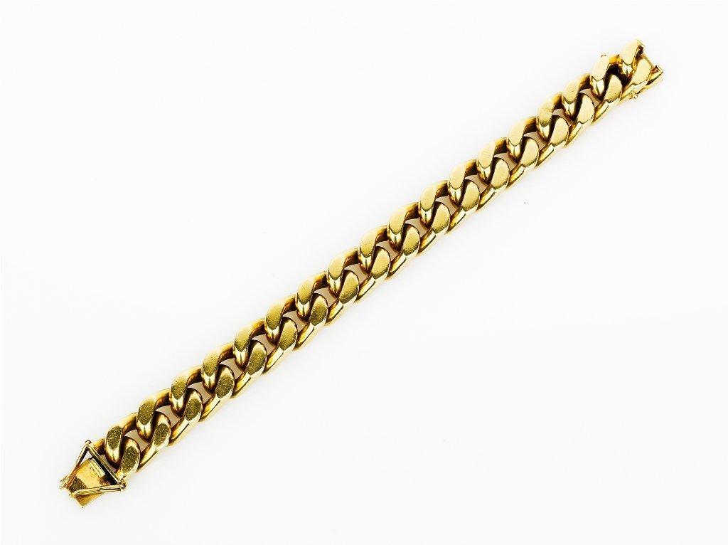 9: Gold Curblink Bracelet