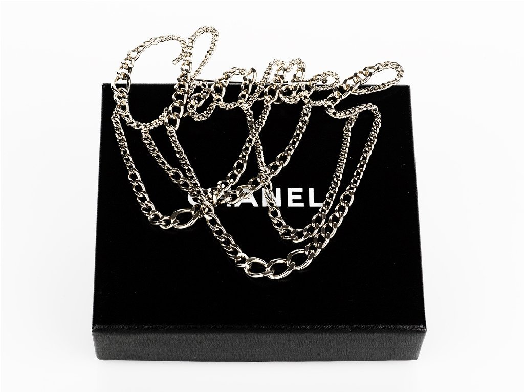7: CHANEL, Chain Mail 'Chanel' Brooch, c. 2006