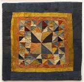Tibetan Geometric Ritual Cloth, 18th Century c. 1780