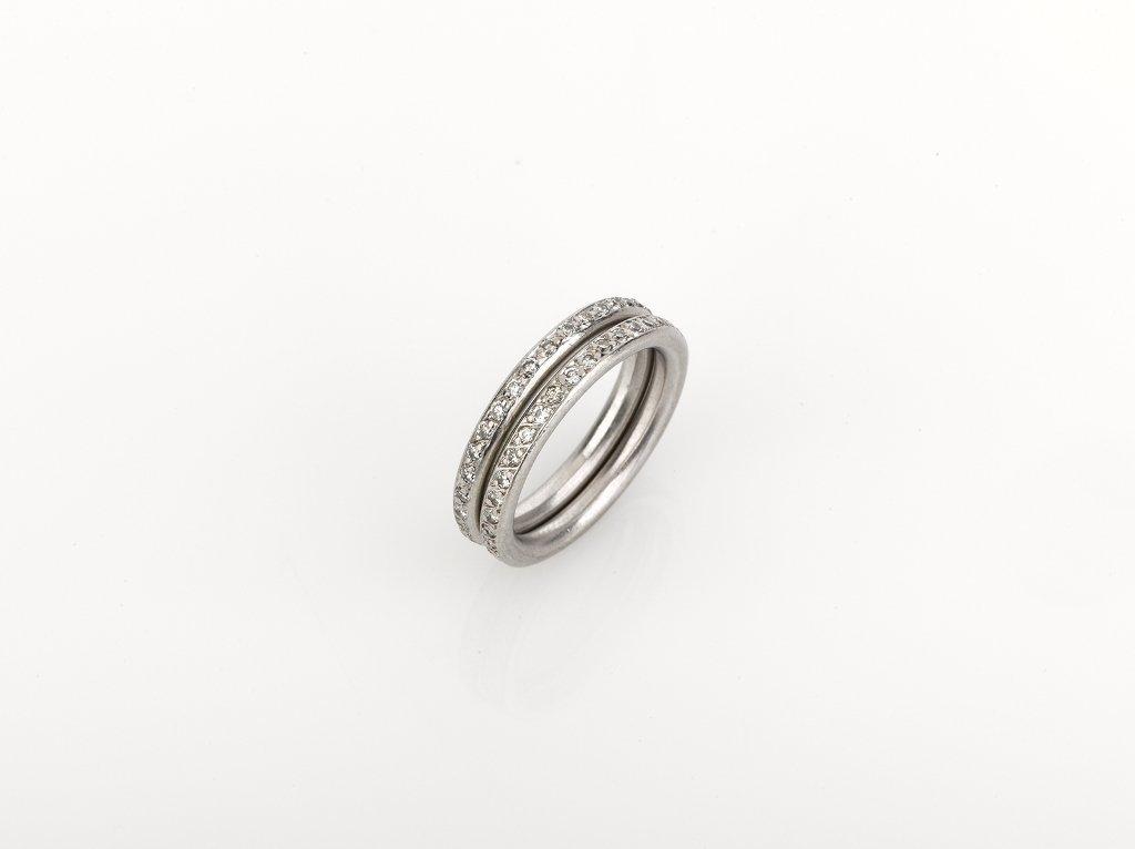 Jan Logan, Diamond Eternity Ring