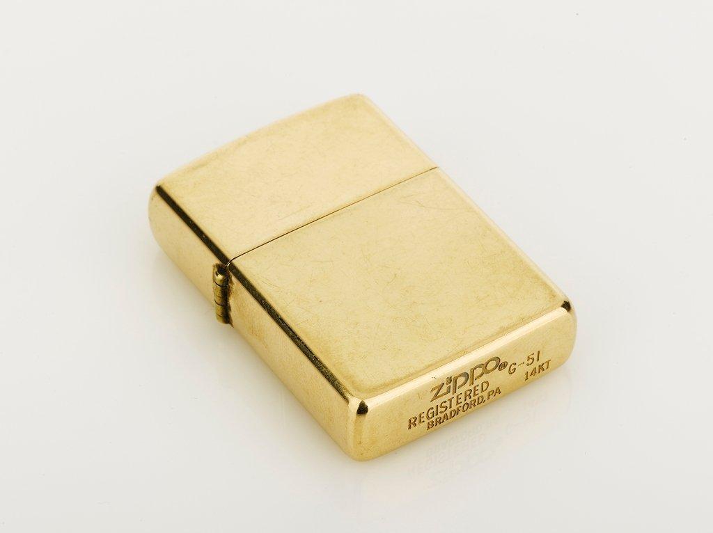 Zippo, Gold Cigarette Lighter