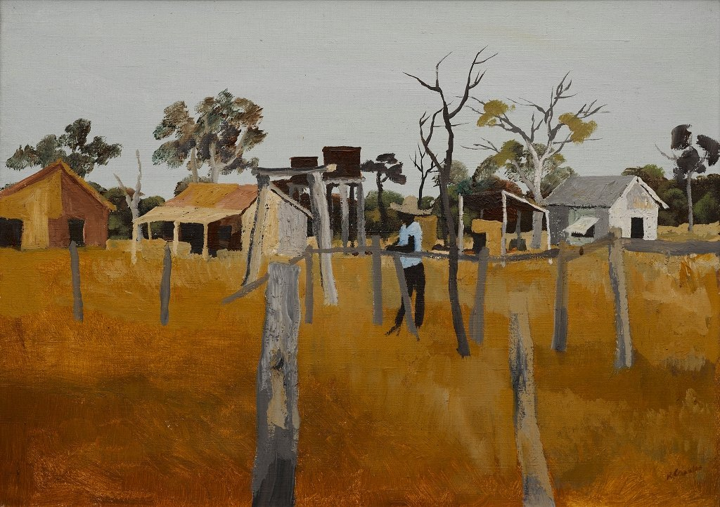 Ray Crooke (b. 1922), Untitled (Outback)