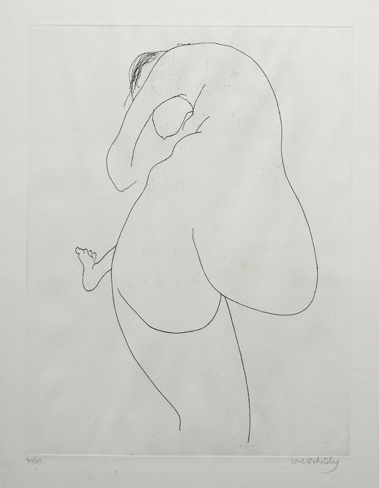 Brett Whiteley (1939-1992), Back View 1976