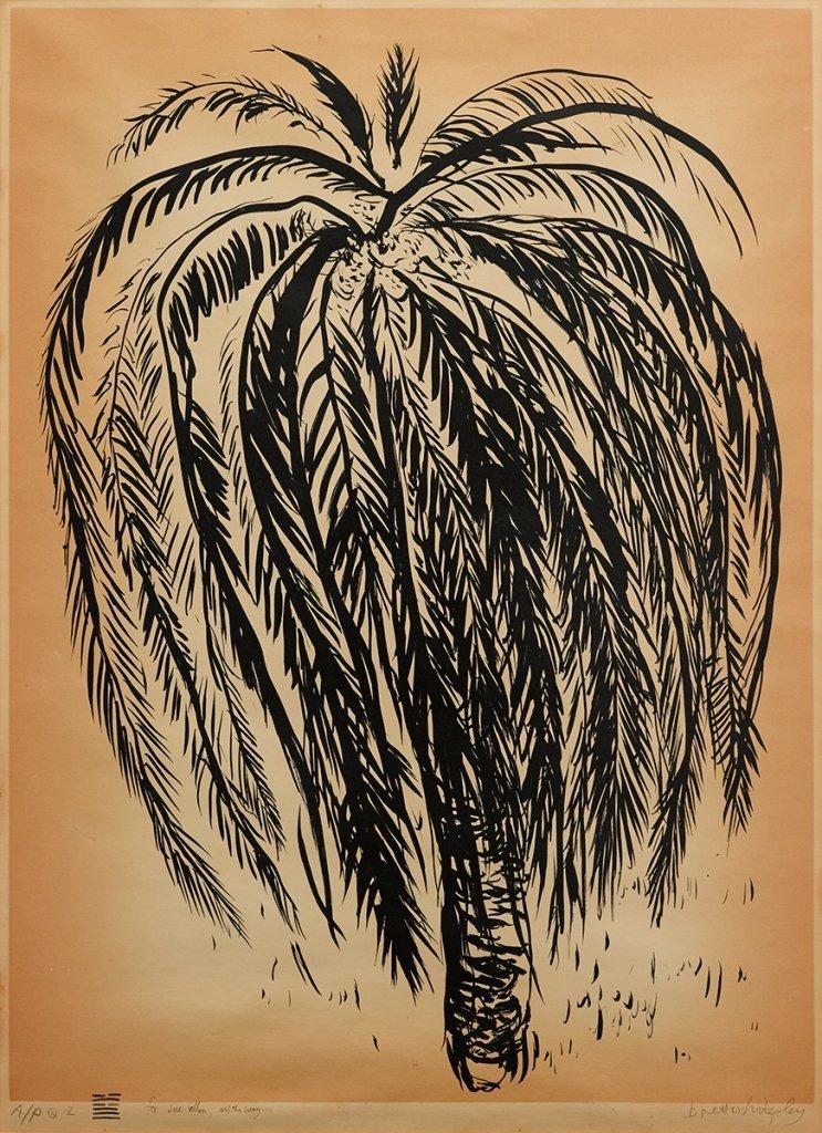 Brett Whiteley (1939-1992), Palm Tree 2 1975