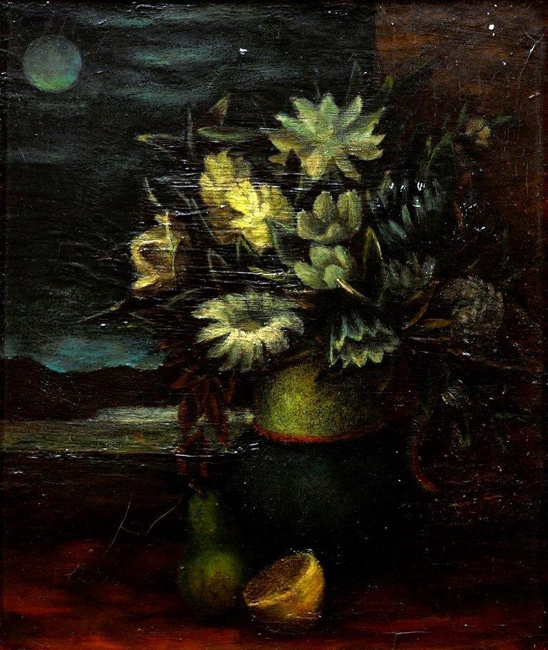 David Strachan (1919-1970), Flower Piece