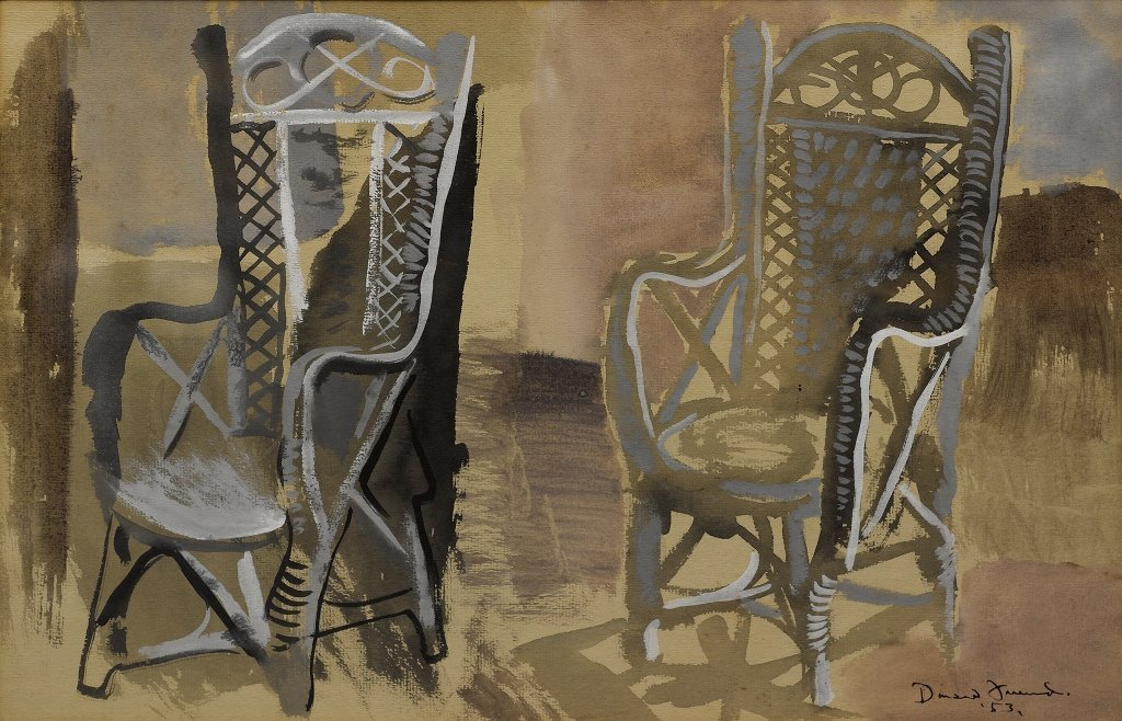 Donald Friend (1915-1989), Untitled (Chairs) 1953