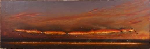 Tim Storrier (b. 1949), Evening Line