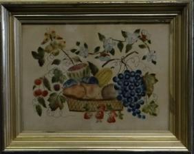 """THEOREM ON VELVET """"STILL LIFE OF FRUIT"""""""