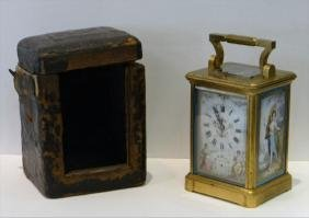 FRENCH REPEATER MOVEMENT CARRIAGE CLOCK