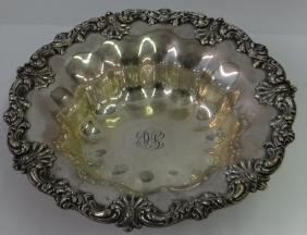 STERLING SILVER FRUIT BOWL MARKED