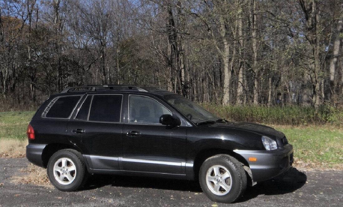 2004 HYUNDAI SANTA FE V6 W/ 24,396 ORIG. MILES