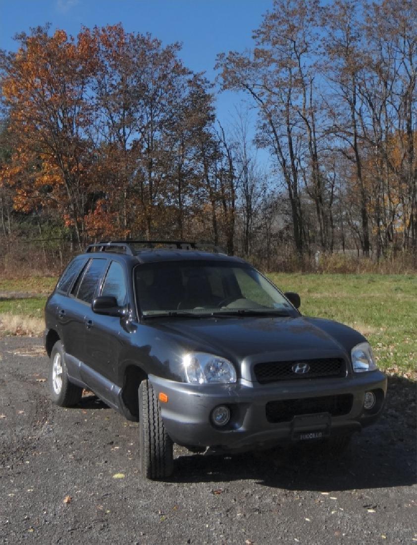 2004 HYUNDAI SANTA FE V6 W/ 24,396 ORIG. MILES - 3