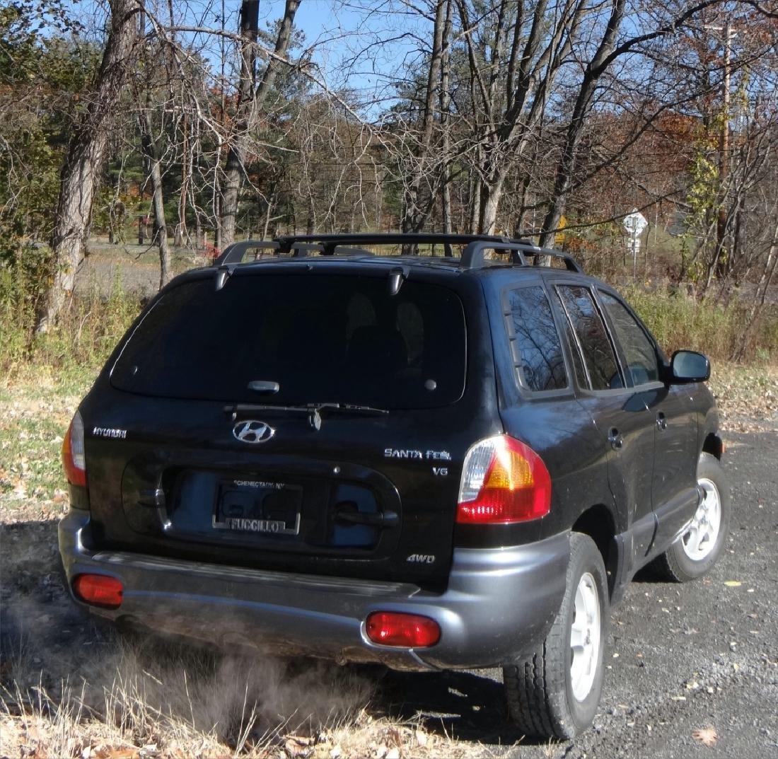 2004 HYUNDAI SANTA FE V6 W/ 24,396 ORIG. MILES - 4