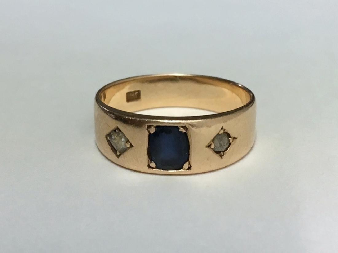 VICT. JEWELRY INC. DIAMOND COCKTAIL RING,  DIAM. - 4