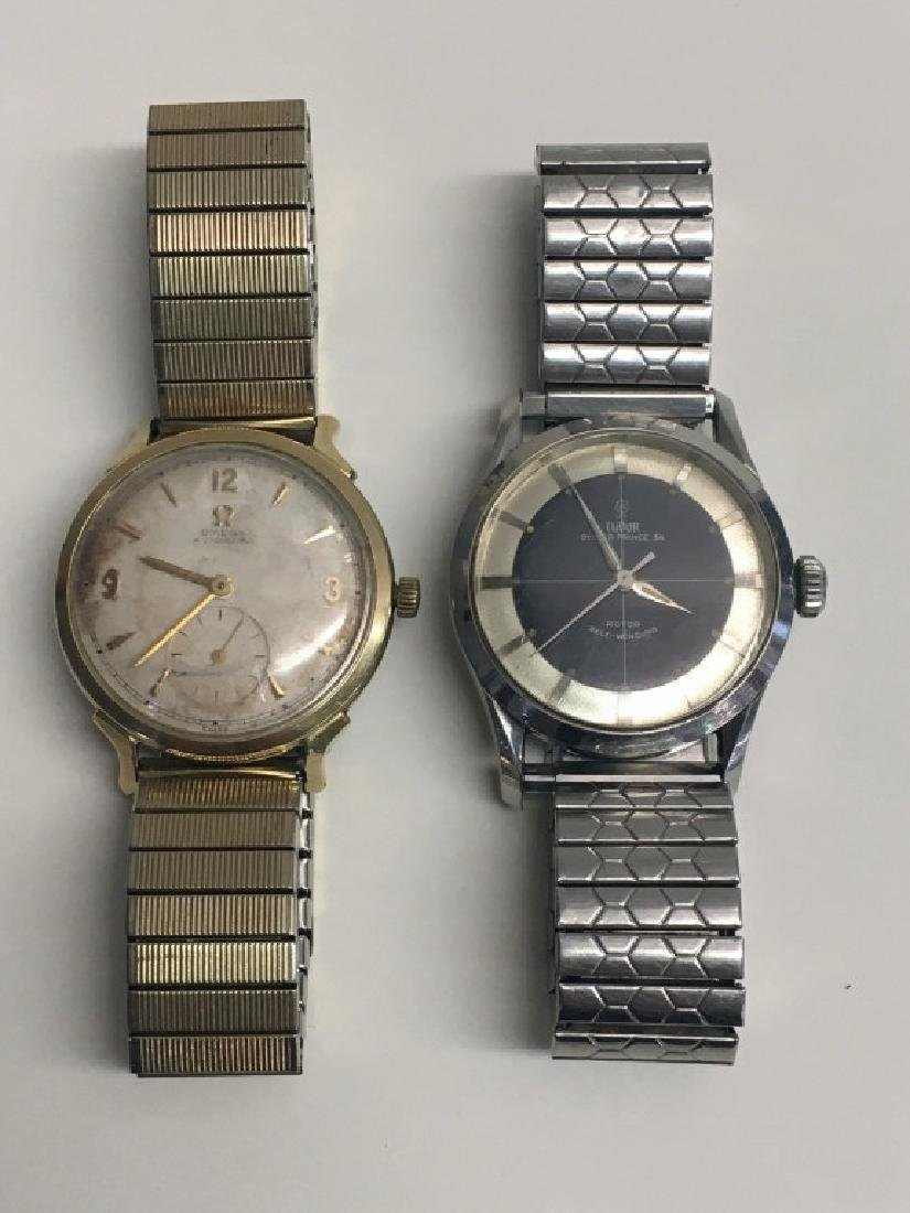 2 VINTAGE WRIST WATCHES: TUDOR OYSTER PRINCE 34 &
