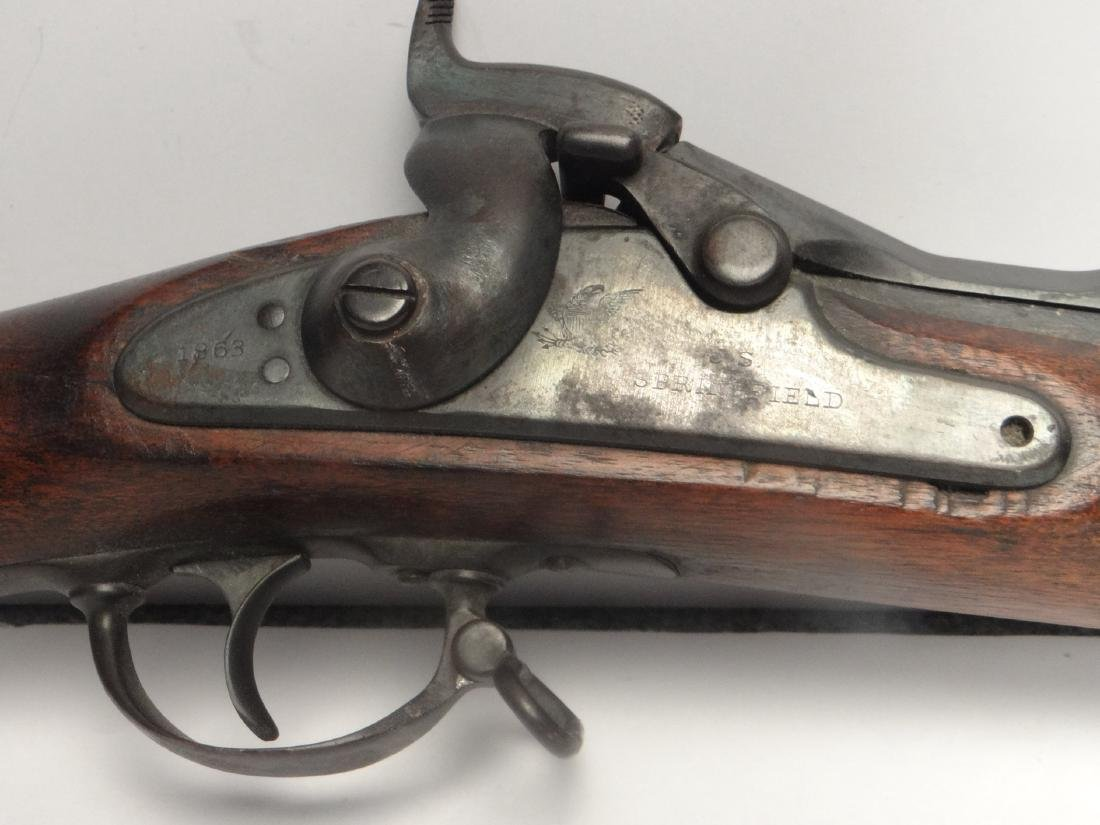 1863 SPRINGFIELD W/  1869 ALLEN CONVERSION - 6
