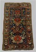 "CAUCASIAN PRAYER RUG, SEMI ANTIQUE 50"" X 30"""