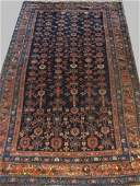 LG SEMI ANTIQUE PERSIAN AREA RUG 80 X 45