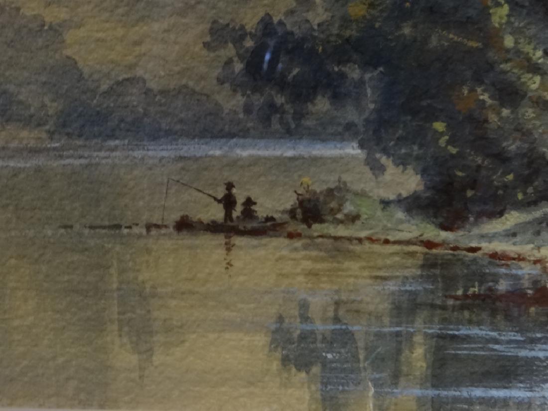 "W/C ""FISHING IN KENTUCKY"" SGND PAUL SAWYIER - 5"