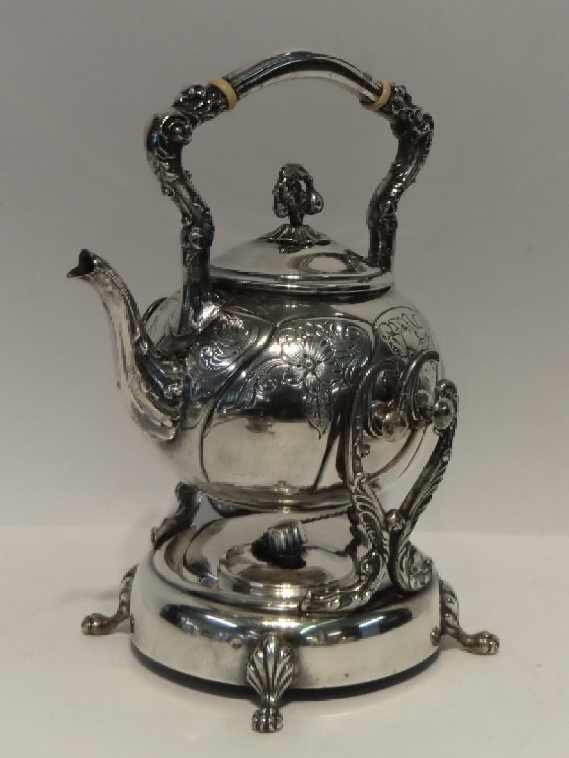 6 PCS. STERLING SILVER TEA & COFFEE SET - 3