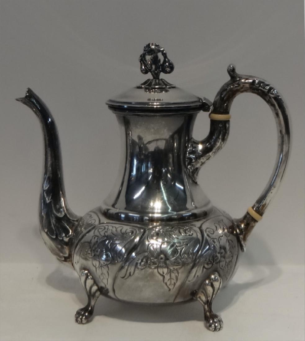 6 PCS. STERLING SILVER TEA & COFFEE SET - 6