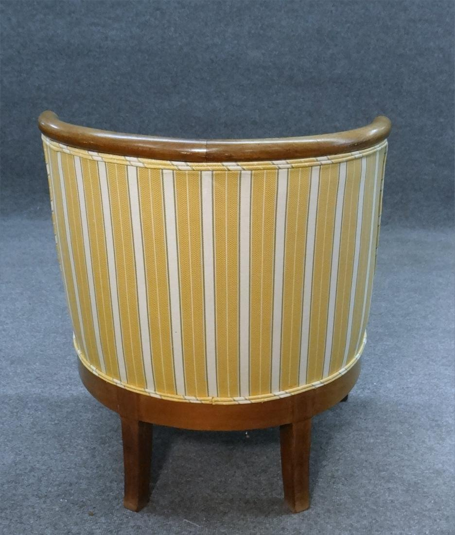 PR OF FRENCH 19THC. SALON OR TUB CHAIRS - 6