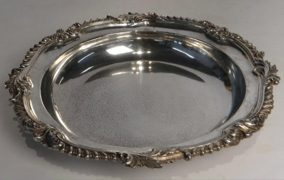 2 ENGLISH STERLING DEEP DISHES JOHN S. HUNT - 2