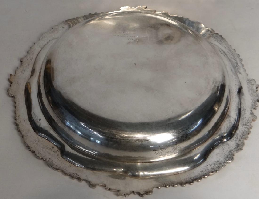 2 ENGLISH STERLING DEEP DISHES JOHN S. HUNT - 3