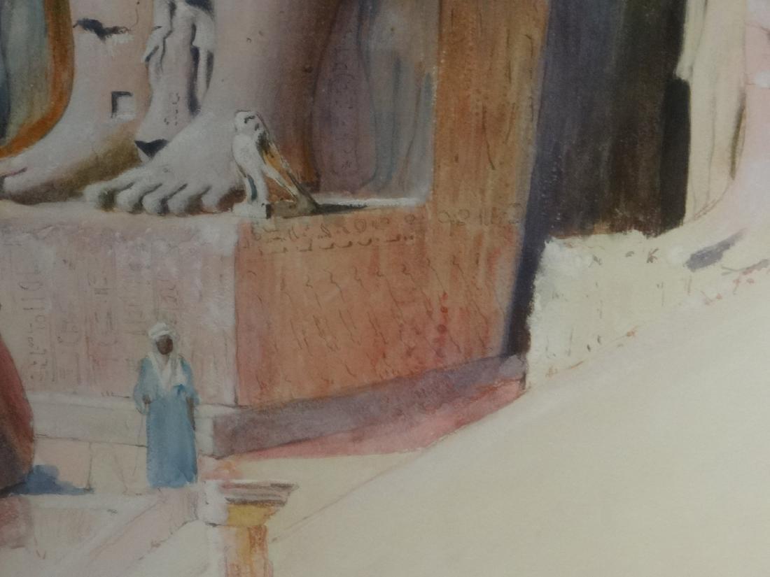 "WATERCOLOR ""EGYPT 1899"" JOSEPH LINDON SMITH - 3"