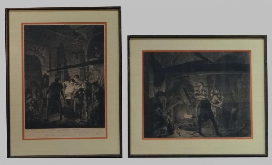 PR OF JOSEPH WRIGHT OCCUPATIONAL ENGRAVINGS