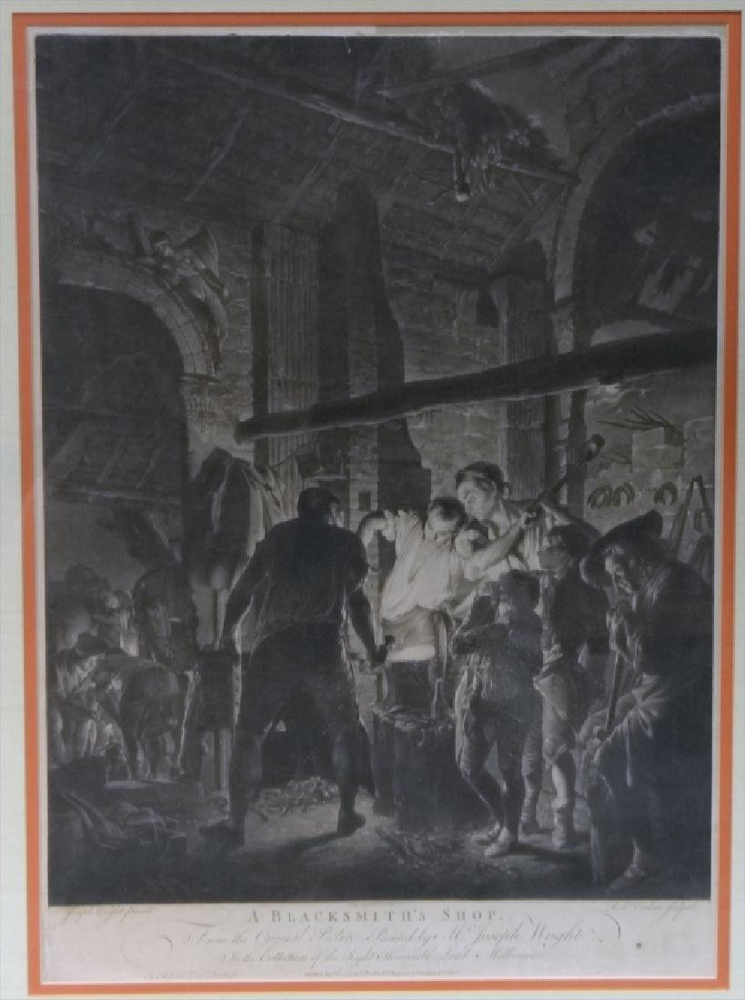 PR OF JOSEPH WRIGHT OCCUPATIONAL ENGRAVINGS - 3
