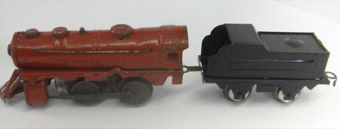 WIND UP TRAINS INC. IVES, 1921 # 19 W/ TENDER & - 2