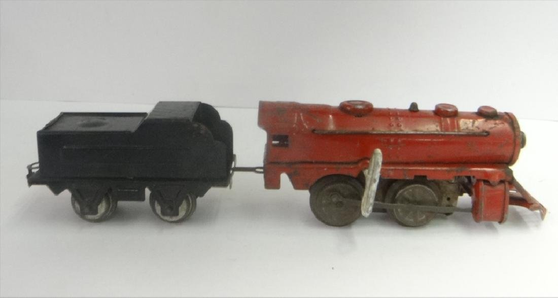 WIND UP TRAINS INC. IVES, 1921 # 19 W/ TENDER & - 3