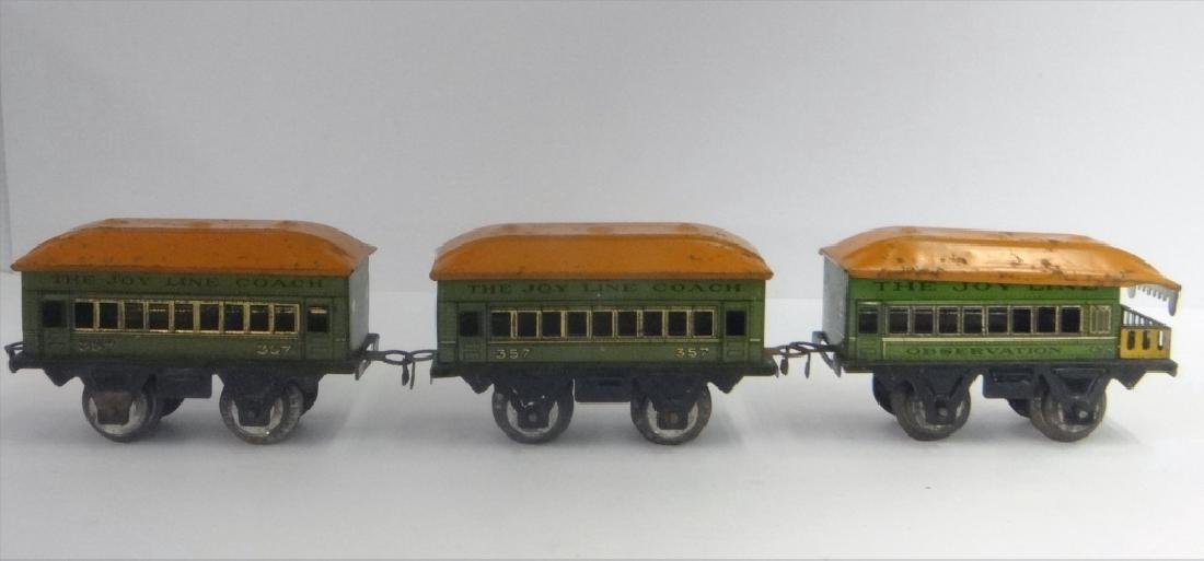 WIND UP TRAINS INC. IVES, 1921 # 19 W/ TENDER & - 4