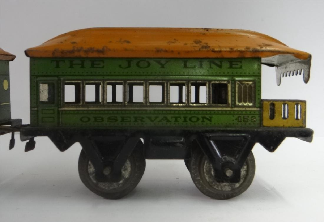 WIND UP TRAINS INC. IVES, 1921 # 19 W/ TENDER & - 6