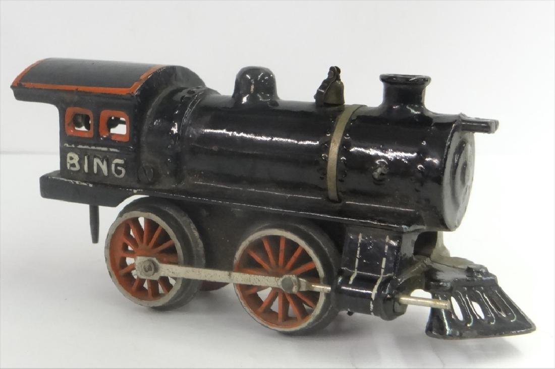 WIND UP TRAINS INC. IVES, 1921 # 19 W/ TENDER & - 9