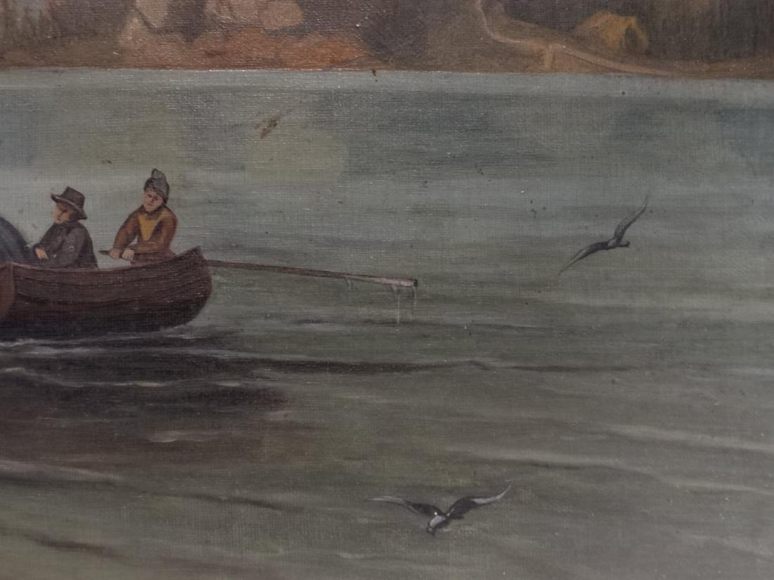 "O/C ""NETTING SALMON IN GREAT NORTH"" 19THC. UNSGND - 4"