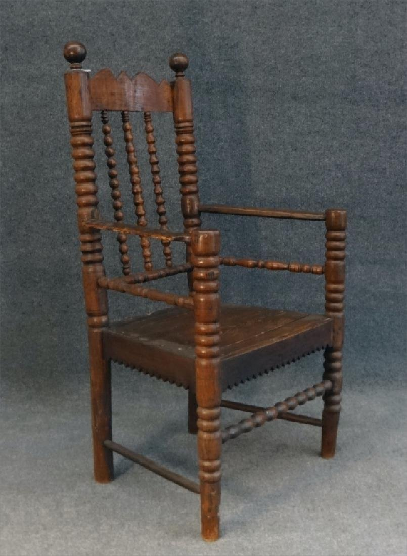 EARLY 18THC. ARM CHAIR - 3