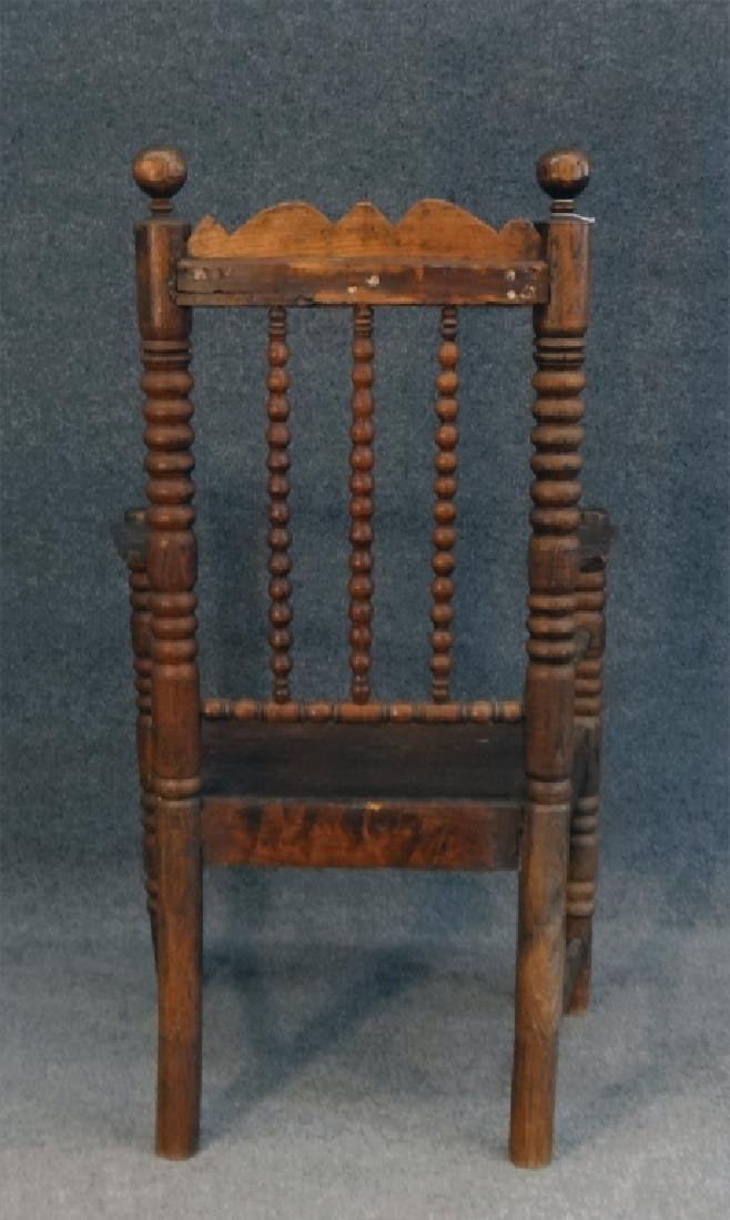 EARLY 18THC. ARM CHAIR - 4