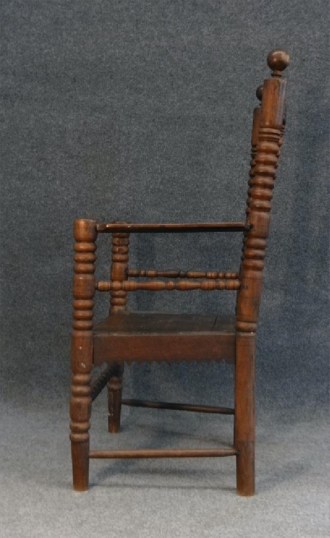 EARLY 18THC. ARM CHAIR - 5