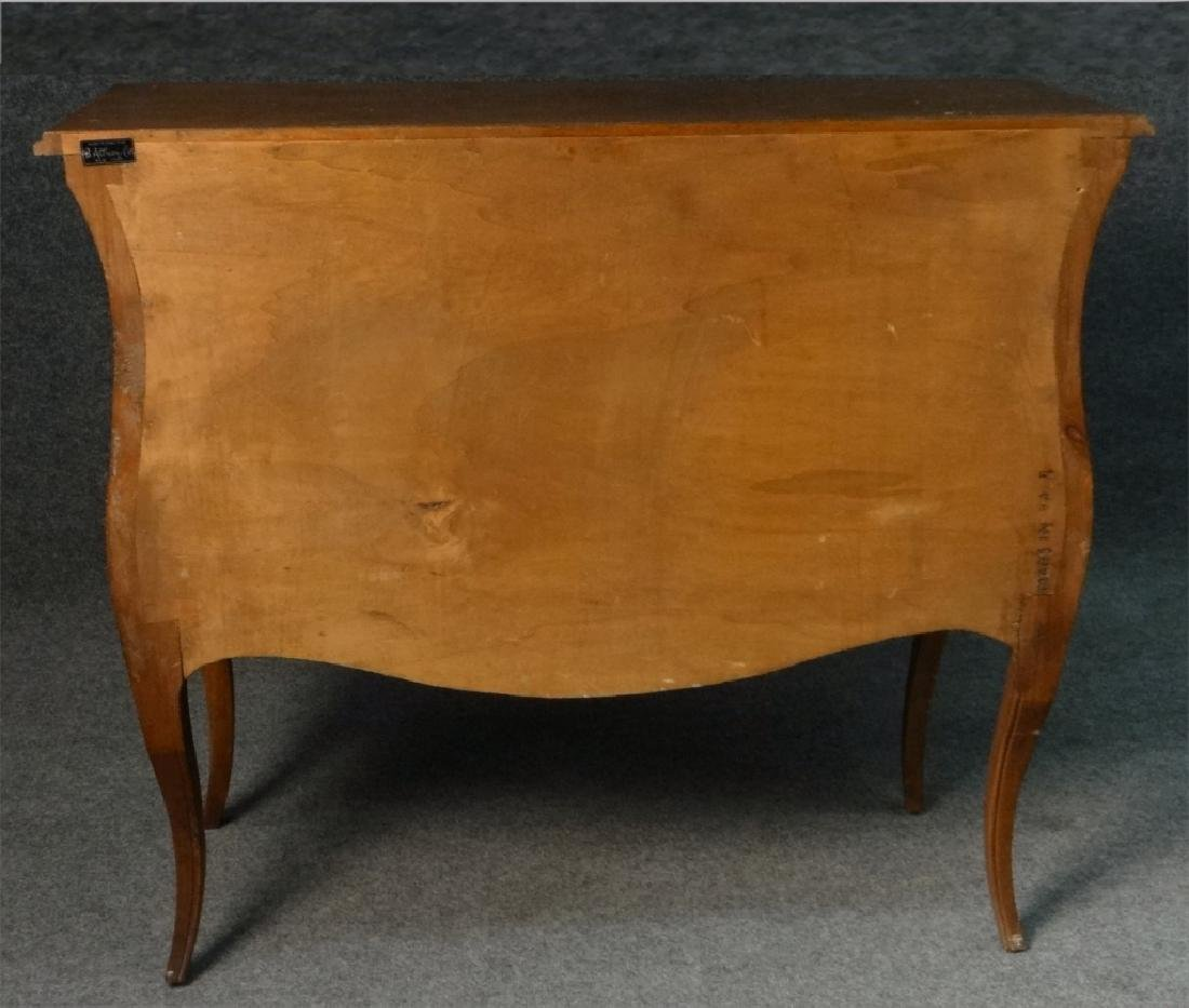FRENCH 2 DR BOMBAY COMMODE RETAILED BY B. ALTMAN - 4