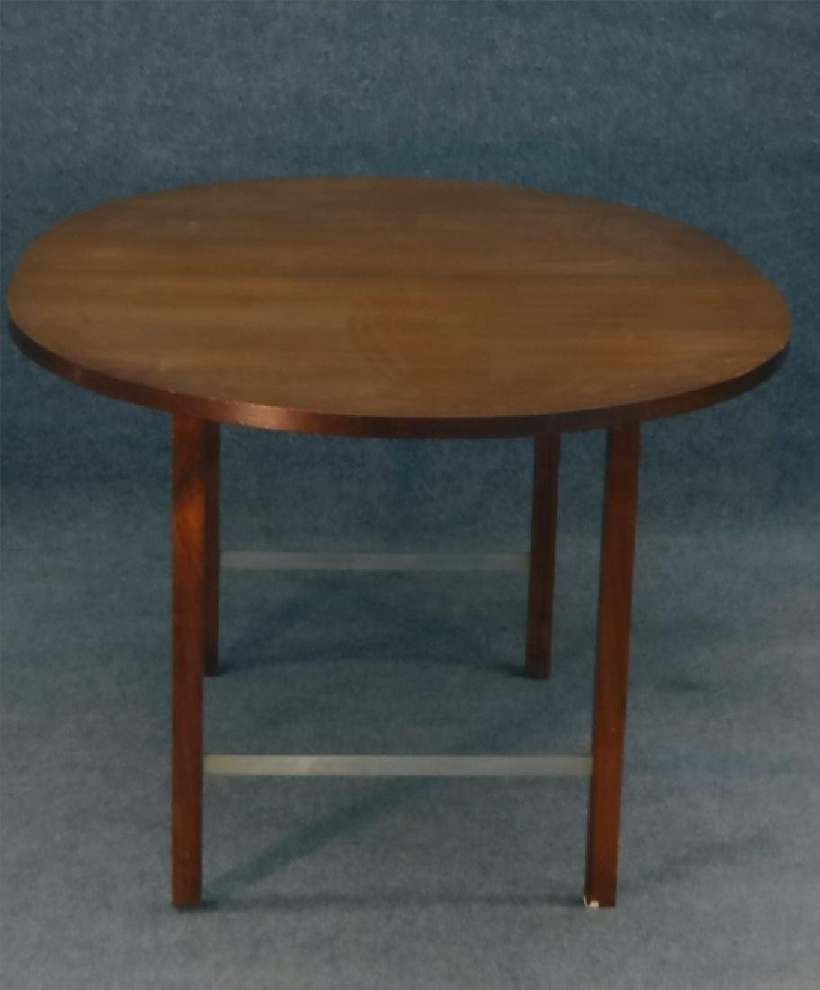 6 PAUL MCCOBB CHAIRS & TABLE W/ 2 LEAVES - 5
